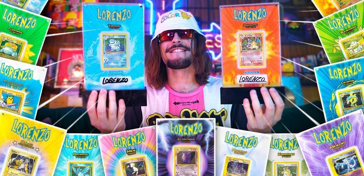 Lorenzo touche le jackpot avec des cartes Pokémon