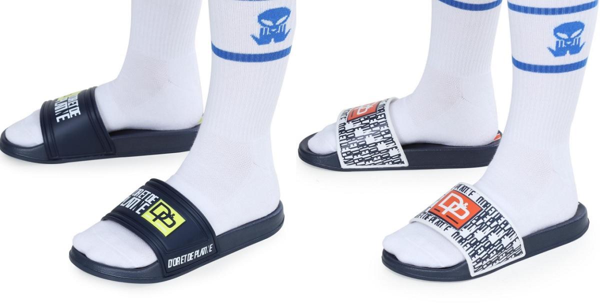 JuL va faire fureur avec la vente de ses claquettes-chaussettes D&P