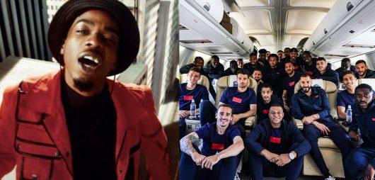 MHD : les Bleus quittent Clairefontaine sur Afro Trap 11